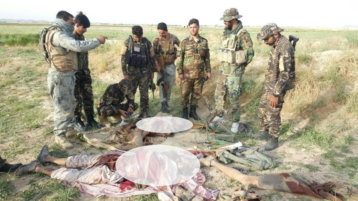 اسامی برخی قوماندانان کشته شده طالبان در فراه