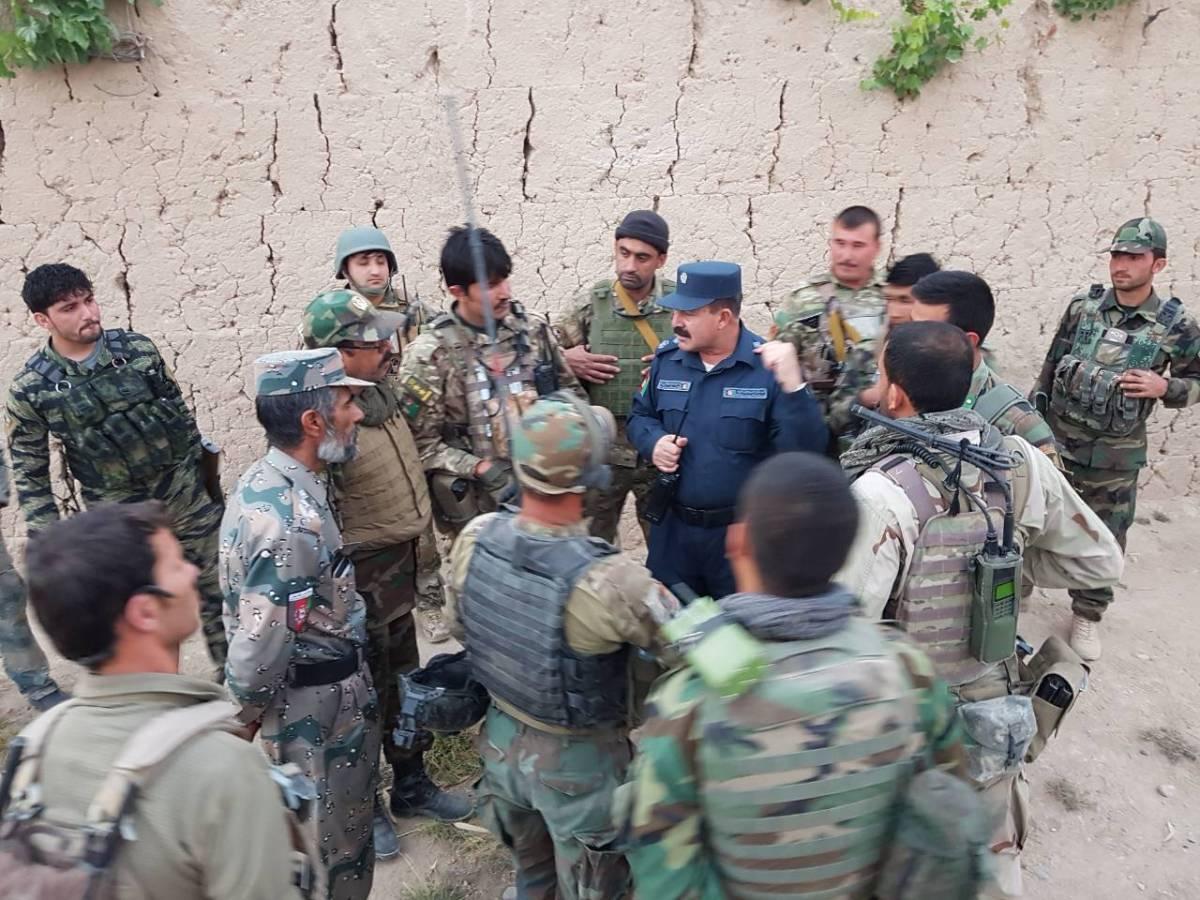آغاز عملیات پاکسازی شهر فراه از وجود طالبان