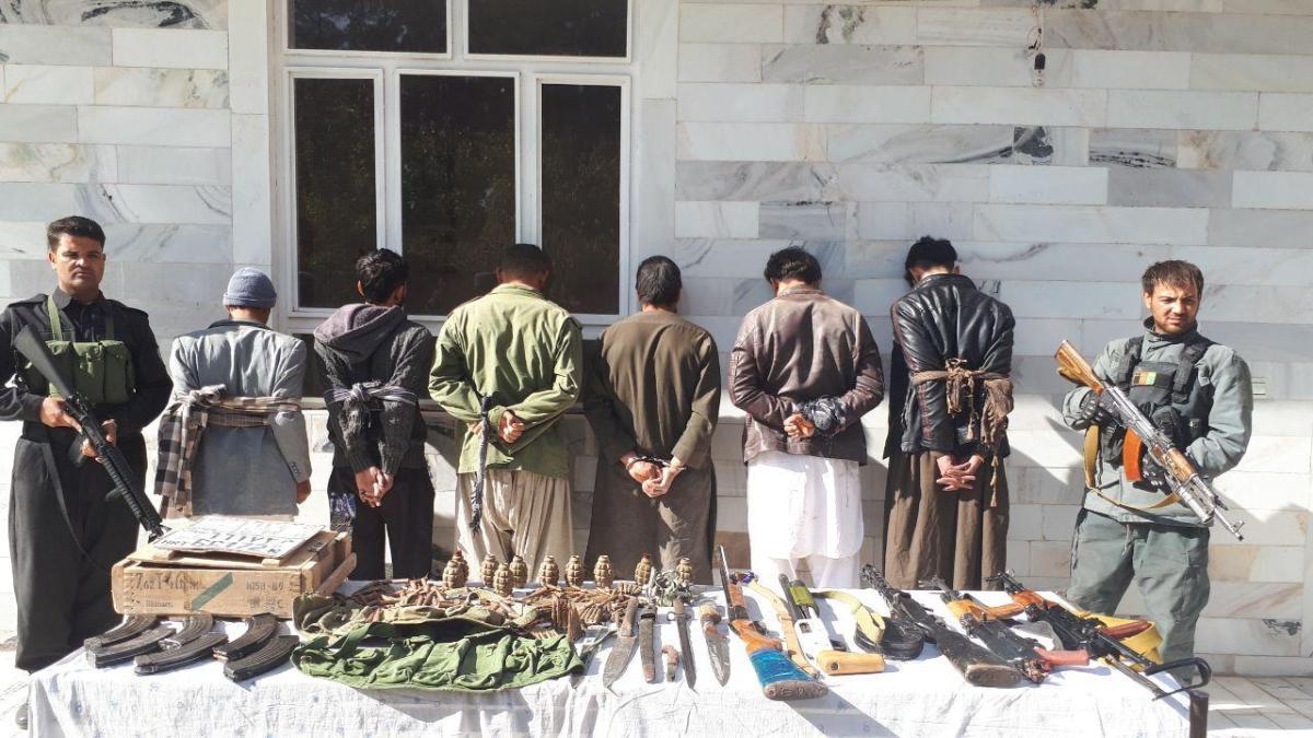 بازداشت اعضای یک باند تبهکار در هرات